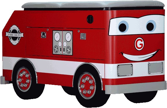 Firetruck Exam Table