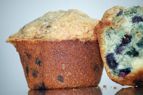 Blueberry Muffin (photo by Minimalist Photography on Flickr)