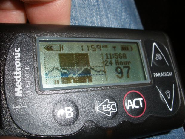 CGM Almost No-Hitter