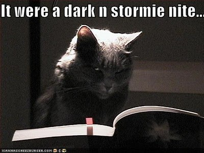 It was a dark and stormie nite...