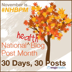 National Health Blog Post Month