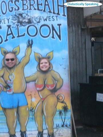 Fun at Hogs Breath Saloon 2010