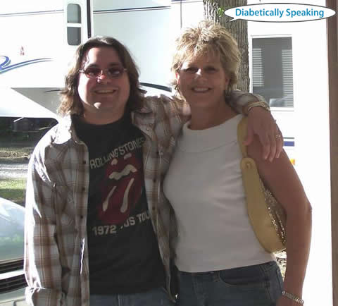 Martin and Mom - 2006