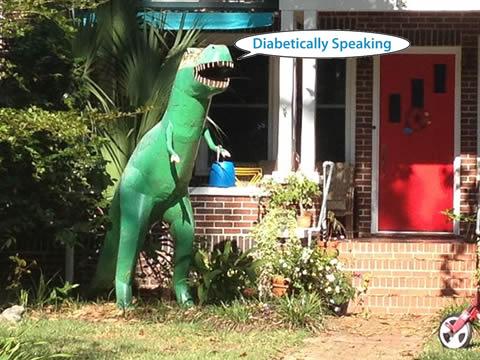 Friendly Neighborhood Tyrannosaurus Rex