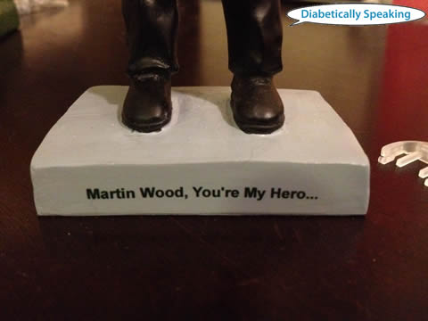 Martin Wood Bobblehead Caption