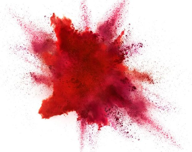 Red Powder Explosion